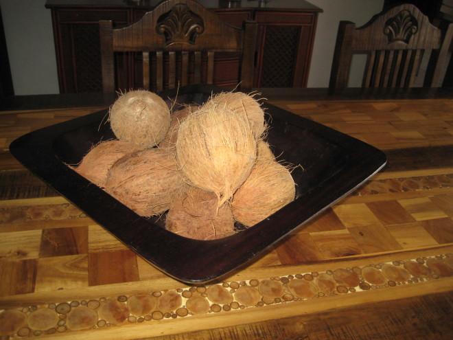 dominican coconuts