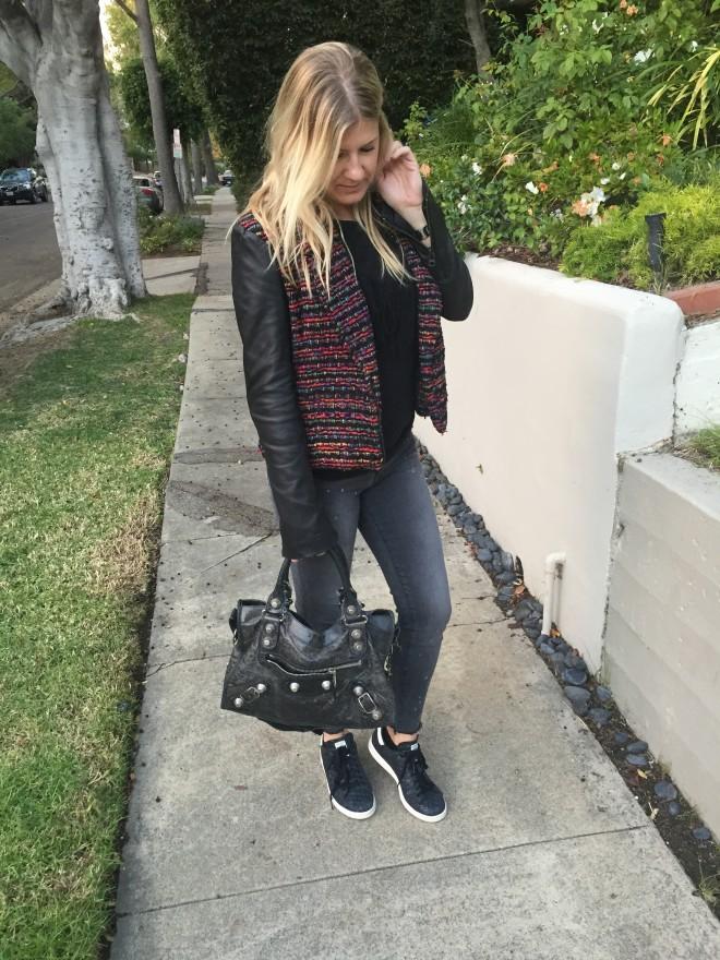 OOTD: Black on Black Fall Fashion