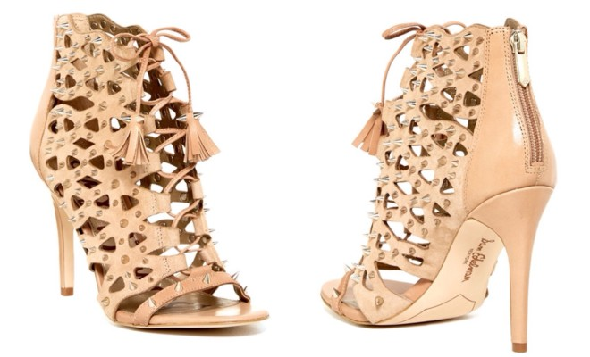 Deal of the Day: Sam Edelman Nude Spiked Sandals