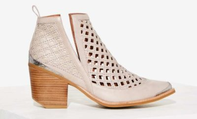27b47defa5868 Deal of the Day  Jeffrey Campbell Cromwell-C Leather Bootie