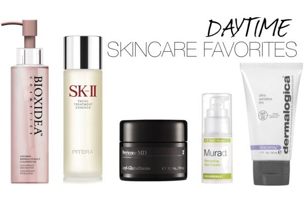 Top 5 Skincare Favorites for Daytime